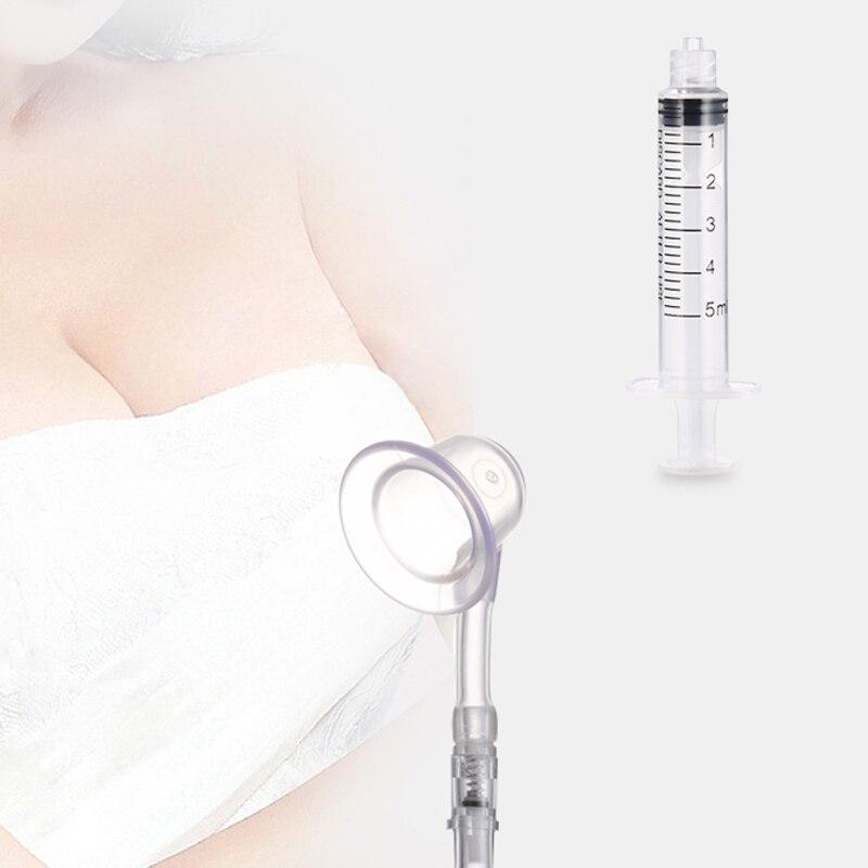 1Pcs Inverted Nipple Pump Sucker Niplette Aspirator Puller Flat Nipples Treatment Redress Easy Painless Nipple Corrector Shaper
