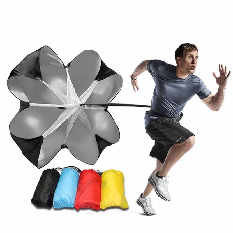 Hot Sale Speed Resistance Training Parachute Running Chute Soccer Football Player Training Parachute Umbrella parachute
