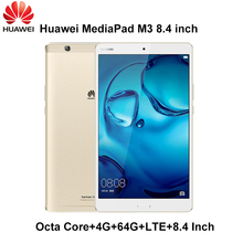 Huawei MediaPad M3 4G Ram 64G Rom LTE 8.4 pouce Android 6.0 Kirin 950 Octa Core Ips Android 6 Origal huawei M3 Mondial ROM