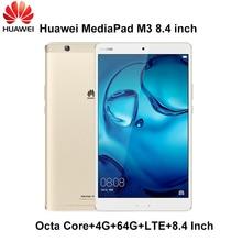 M3 4G Ram 64G Rom LTE de Huawei MediaPad 8.4 pulgadas Android 6.0 Kirin 950 Octa Core ROM Ips Android 6 huawei Origal M3 Mundial