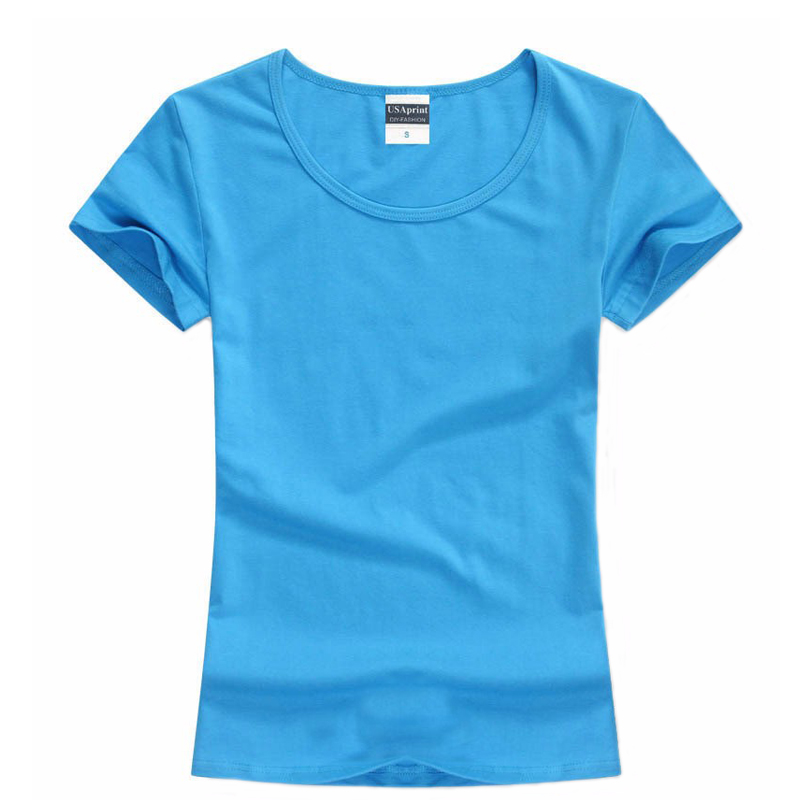 Summer T Shirt Women Cotton Tshirts Casual O-neck Tee Shirt Tops Camisetas Mujer Off The Shoulder Tops For Women Basic T-shirts