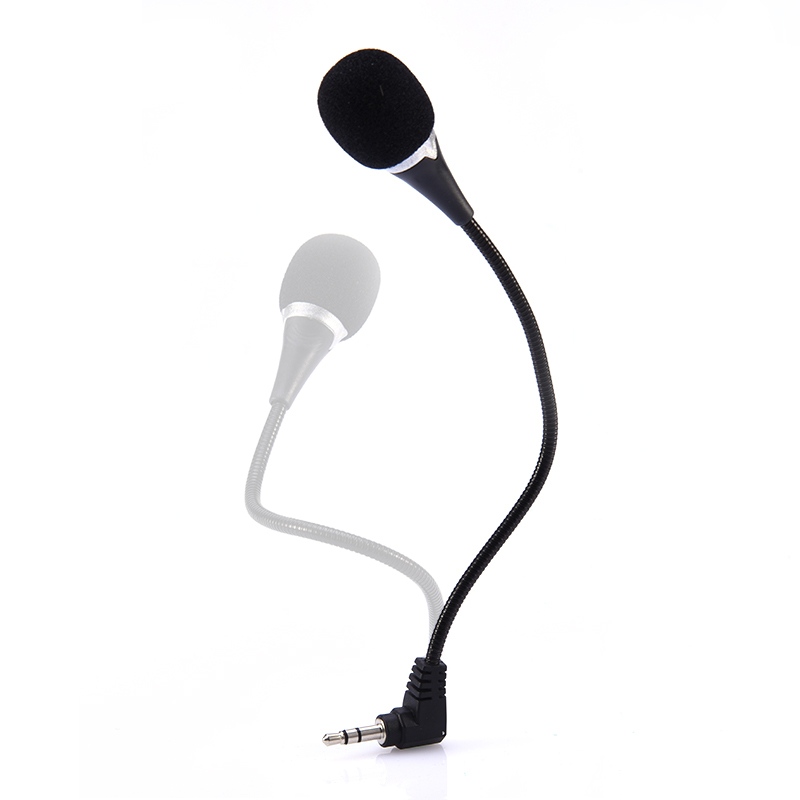 Super Lightweight Mini Laptop Microphone Computer Laptop Dedicated Mic microphone portable 3.5 mm Stereo Jack microphone