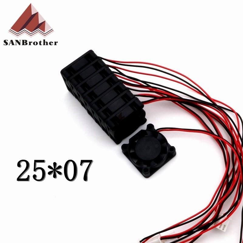 3D Printer 2507 5V Fan Ultimaker 2 UM2 Extended + Hot-end Cooling Fan Top Quality Hot!