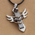 NEW Arrival Stainless Steel Pendants Cross Necklaces men jewelry fashion necklace for women
