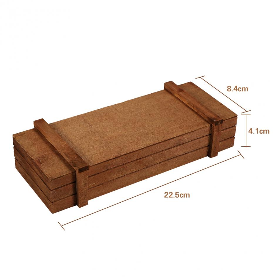 Enjoyable Us 2 57 34 Off Wood Flowerpot Garden Planter Plant Pot Ldecorative Wooden Boxes Planter Rectangle Table Succulent Flower Pot Gardening Device In Caraccident5 Cool Chair Designs And Ideas Caraccident5Info