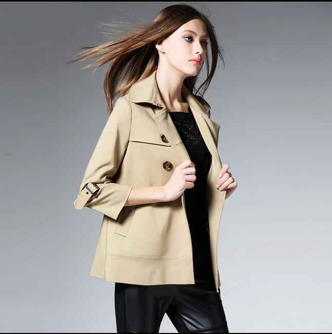 Online Get Cheap Short Trench Coat Women -Aliexpress.com | Alibaba ...