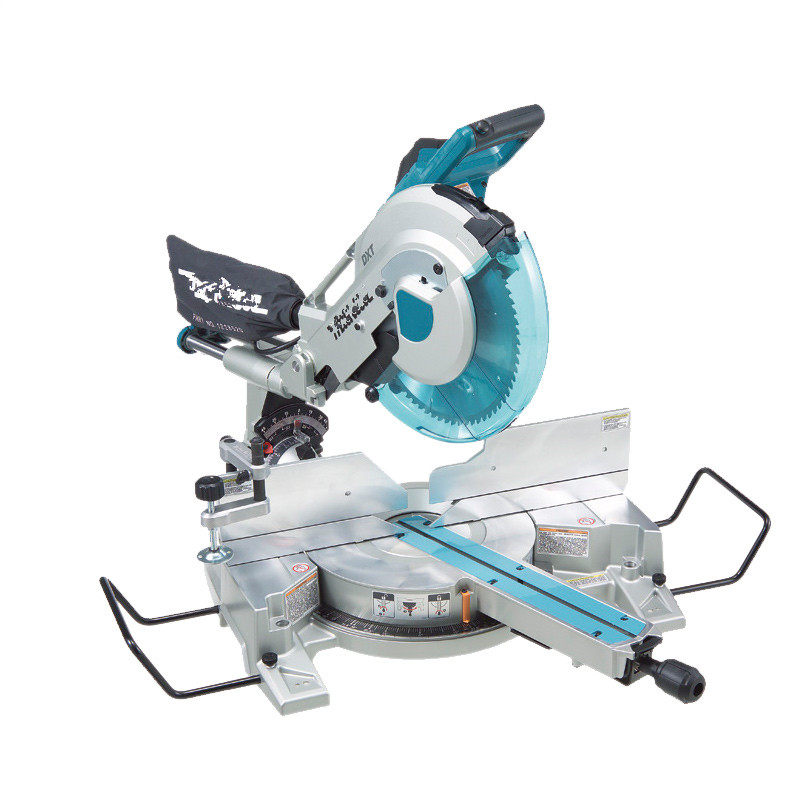 12 Inch Rod Aluminum Sawing Machine Woodworking Sliding Composite Miter Saw 305mm