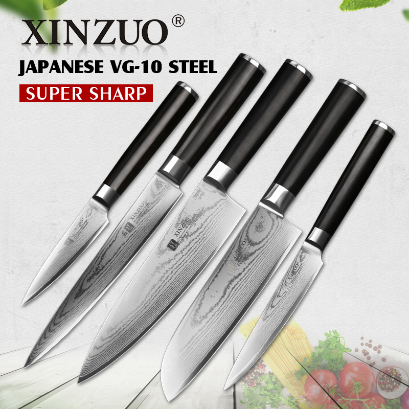 Aliexpress.com : Buy XINZUO 5 PCS Kitchen Knife Sets