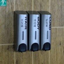 Дезинфицирующее средство для рук шампунь распределитель установленный тройной пластиковый мыла, диспенсер для жидкого мыла контейнер для ванной мыла стены