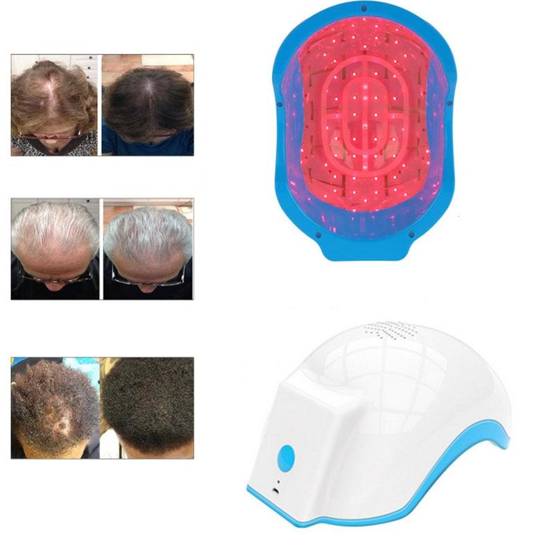 Laser Therapy Hair Growth Helmet Anti Hair Loss Device Treatment Anti Hair Loss Promote Hair Regrowth Cap Massage Equipment все цены