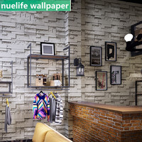 Gray 3D stone marble pattern wallpaper bar hotel restaurant living room bedroom study TV sofa background wall paper