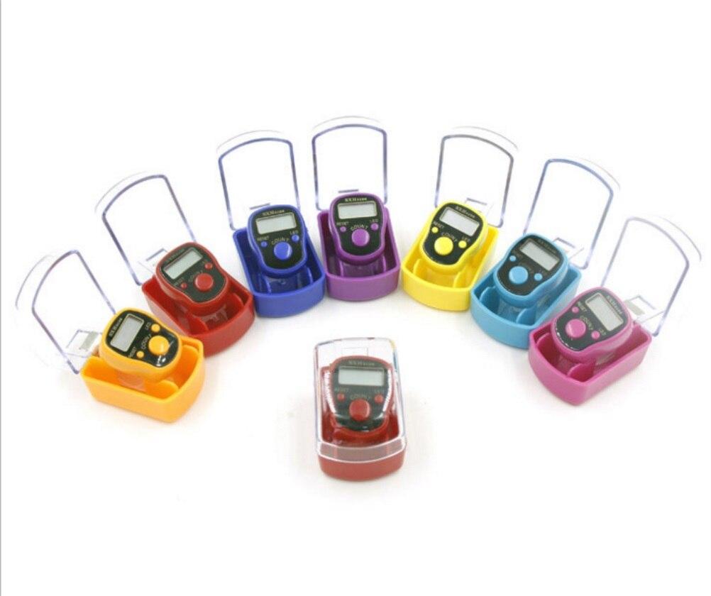 Мини-Маркер стежка и ряда ЖК-дисплей электронный цифровой счетчик для шитья Вязание инструмент для плетения случайный с коробкой