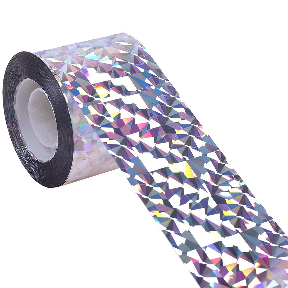 Bird Repellent Tape Reflective Anti Bird Scare Tape Pigeons Fox Animal Repeller Ribbon Deterrent Tapes Per Roll Garden Supplies