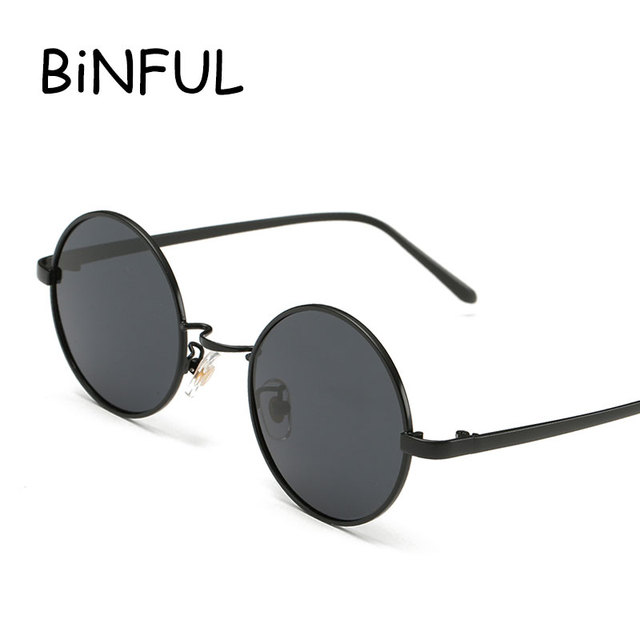 3abc4896157d Sunglasses Round Men Women 2018 Polarized Steampunk Sun Glasses Luxury  Metal Frame Retro Vintage Mirror lunette soleil homme