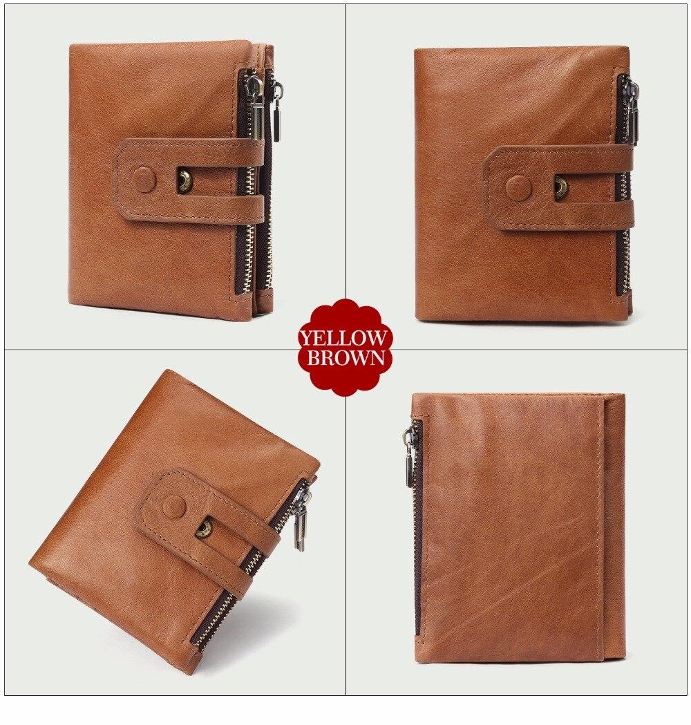 JOYIR Genuine Leather Vintage Women's Wallet