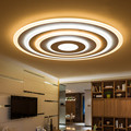 2017 New design Modern LED Ceiling Light Acrylic Round Dimming Ultrathin Ceiling Lamp For Living room Bedroom Fixture luminarias