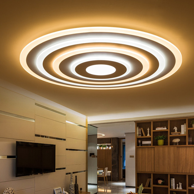 Plafonnier design pour chambre lustre design salon with for Plafond moderne design