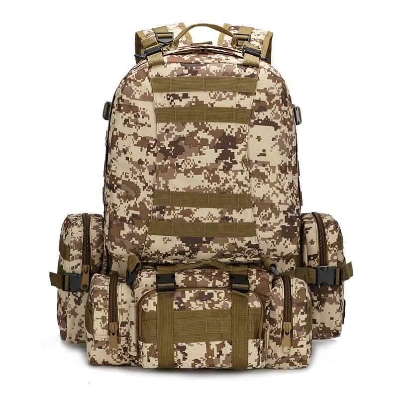 Outlife 50L sac à dos en plein air Molle militaire tactique sac à dos sac à dos sac de sport étanche Camping randonnée sac à dos pour voyage