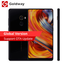 "Global Version Original Xiaomi Mi Mix 2 Mix2 Mobile Phone 6GB RAM 64GB ROM Snapdragon 835 Octa Core 5.99""FHD+Full Screen Dispaly(Hong Kong,China)"