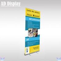 85*200 cm 2.3 kg Standardowy Wystawa Aluminium Rozwijany Roll Up Banner Stand, Targów Wydarzenia Przenośny Wyświetlacz Reklamowy stojak