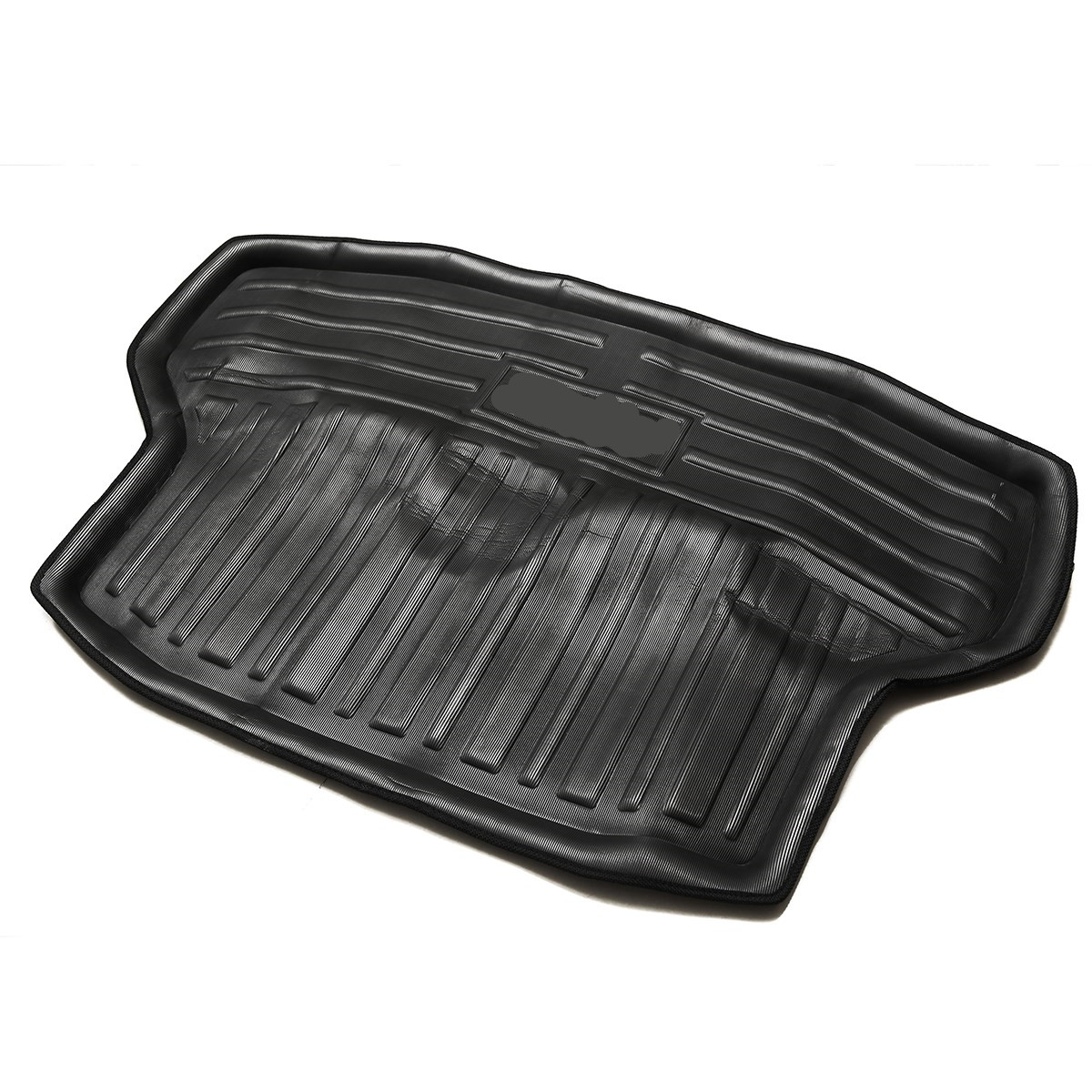 1x New Waterproof Car Rear Trunk Boot Mat Cargo Liner Floor Tray For Honda Civic Sedan 2016 2017 2018 Auto Accessories With Logo