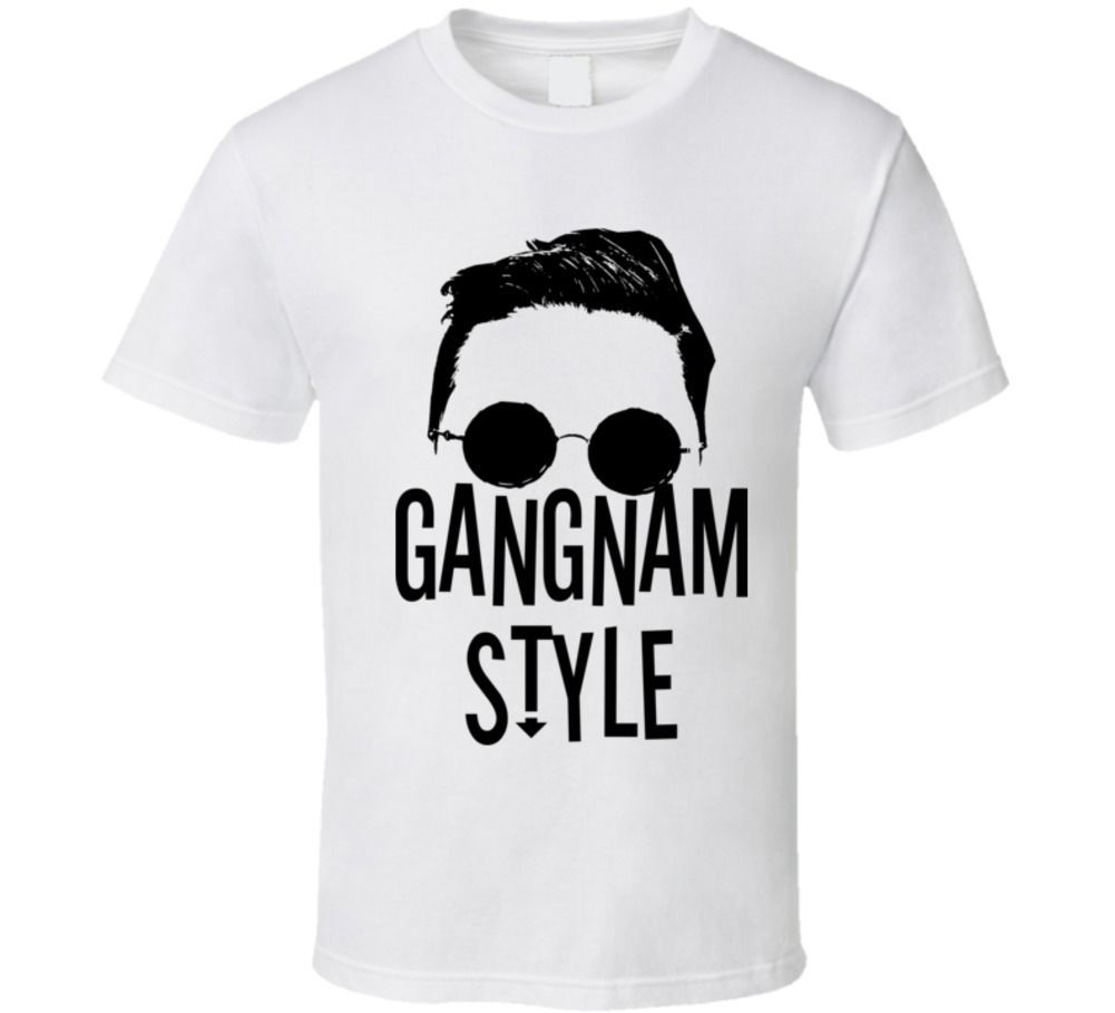 Gildan Gangnam Style funny South Korea viral video music pop t shirt