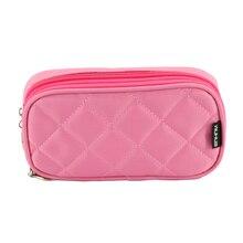 DINIWELL Women Rectangular Nylon Toiletry Bag Zipper Purse Mini Makeup Bag Lady Brush Organizer Make Up Clutch Cosmetic Bags