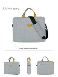 Image 4 - Нейлоновая сумка на плечо для ноутбука 13, 14, 15,6 дюймов, сумка чехол для Xiaomi air, Macbook, Air Pro, Lenovo, Dell, HP, Asus, Acer, чехол для ноутбука