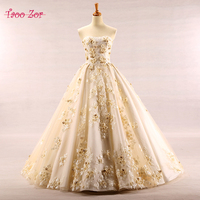 Amdml Vintage Lace Appliques A Line Wedding Dresses Real Photo 3 D Flowers Sweetheart Neck Lace