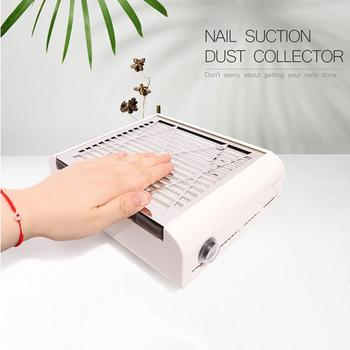 40W DC12V Professional Nail Suction Dust Collector Large Size Strong Nail Vacuum Cleaner Machine Low Noisy With Salon Tools Sale