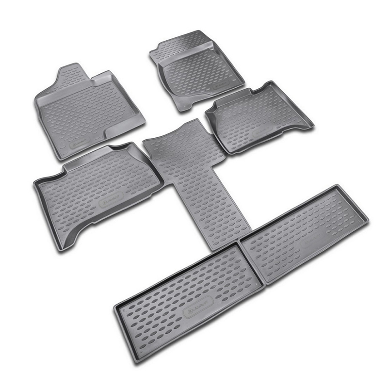 цена на Mats in the salon For CHEVROLET Tahoe (captain) 2007-2015, 6 PCs (polyurethane)