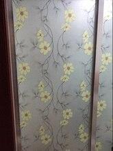 PVC Dormitorio Baño Ventana De Cristal manchada Privacidad Frosted Frost Hogar Películas Ancho 80 cm * longitud 300 cm jh01