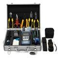 25 piezas para F C-6S fibra óptica FTTH Kit de herramientas de fibra cuchilla de potencia óptica buscador Visual localizador de alambre herramientas