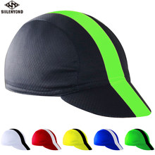 SIILENYOND 100% de poliéster al aire libre de béisbol del deporte de la bicicleta bicicletas Moto sombreros diadema de casco sombreros Bandana para ciclismo tapa