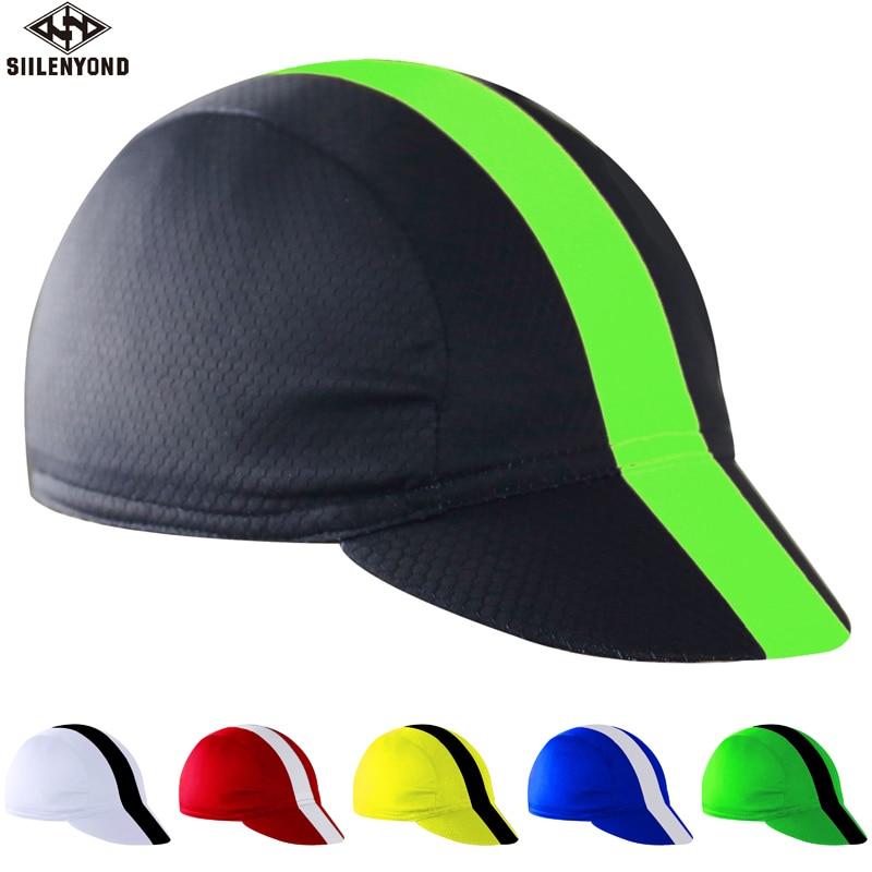 SIILENYOND, 100% de poliéster para deportes al aire libre, béisbol, bicicleta, bicicleta, Moto, diadema de casco, sombreros, Bandana, gorra para ciclismo