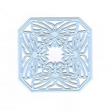 DiyArts Butterfly Frame Hollow Metal Cutting Dies for Craft Scrapbooking Card Making Embossing Die Cut Background