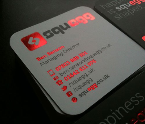 2016 high grade custom paper business card printing hot red foil 2016 high grade custom paper business card printing hot red foil stamping visit card round corner reheart Image collections