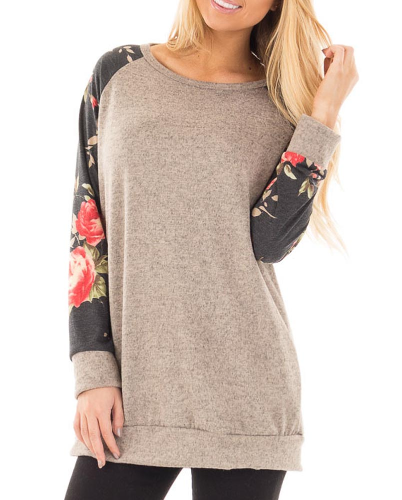 Hitmebox 2018 Newly Autumn Winter Vintage Womens Cotton Knitted Raglan Long Sleeve Lightweight Tunic Jumper Tops Sweaters