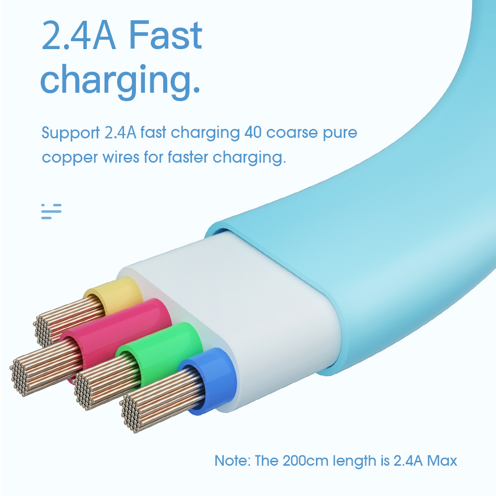 Essager Micro USB Cable For Samsung Huawei Xiaomi Fast Charging ...