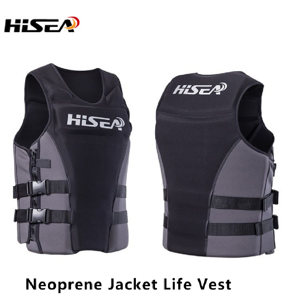 Neoprene Surfing Floating Life Vest Rafting Snorkeling PFD Inflatable Kids/Women/Men Life Jacket Swimwear Swimming jacket Life