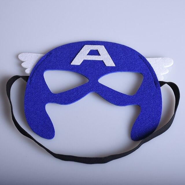 Cosplay captain america masque super h ros halloween de no l enfants enfants f te d 39 anniversaire - Masque de captain america ...