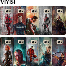 VIYISI For Samsung Galaxy J3 J5 J7 A5 A3 2017 2016 2015 S6 S7 Edge S8 S9 Plus Phone Case Marvel Deadpool Coque Shell Fundas Cell все цены
