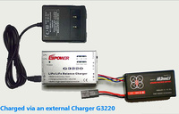 Free Shipping Li Po Balance Charger And Power Adaptor For 11 1V Parrot AR Drone 1