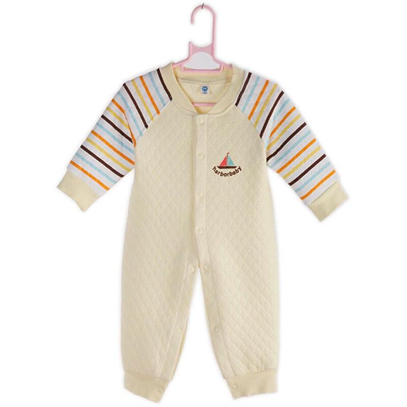 Nye Baby Rompers Girl Baby Babytøj Luftfilter tykkere bomuld Winter Rompers HarbourBaby Newborn Baby Girl Tøj HB025