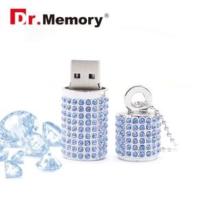 Image 3 - Luxury Rhinestones Diamonds USB Flash Drive High Quality Memory Stick Waterproof Pen Drive 4G 8G 16G 32G 64G Memory U Flash Disk