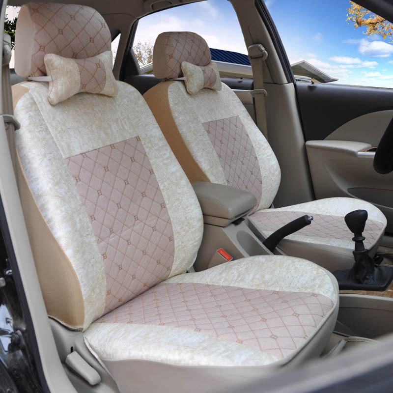 Yuzhe flax Universal car seat covers For Kia soul cerato sportage optima RIO sorento K2K3K4K5 sorento Ceed  accessories styling new styling leather car seat cover car cushion complete set for kia k4 k5 kia rio ceed cerato sportage optima maxima four season