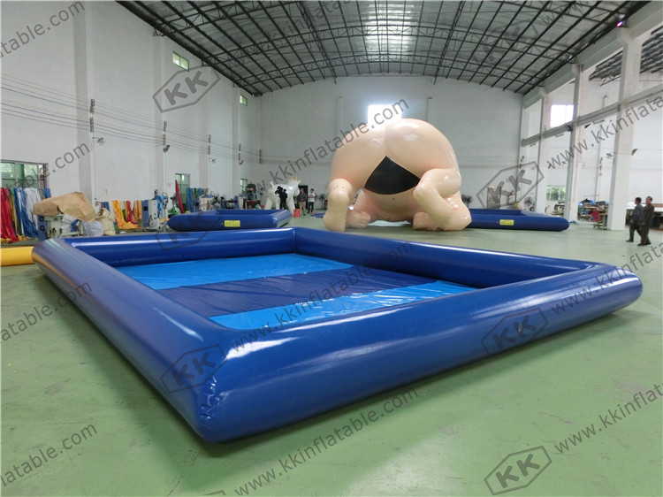 Customized Size Large Inflatable Water Pool For Water Ball Inflatable Water Pond For Sale