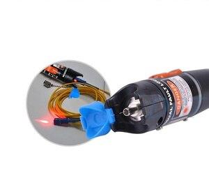 Image 3 - Localizador Visual de fallos probador de Cable de fibra óptica, 10mW, fuente láser, rango de 10KM, VFL10C