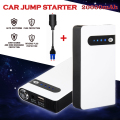 White Portable 12V 20000mAh Mini Emergency Car Jump Starter Battery Charger Thin Power Bank Booster Boat New Arrival CS003N