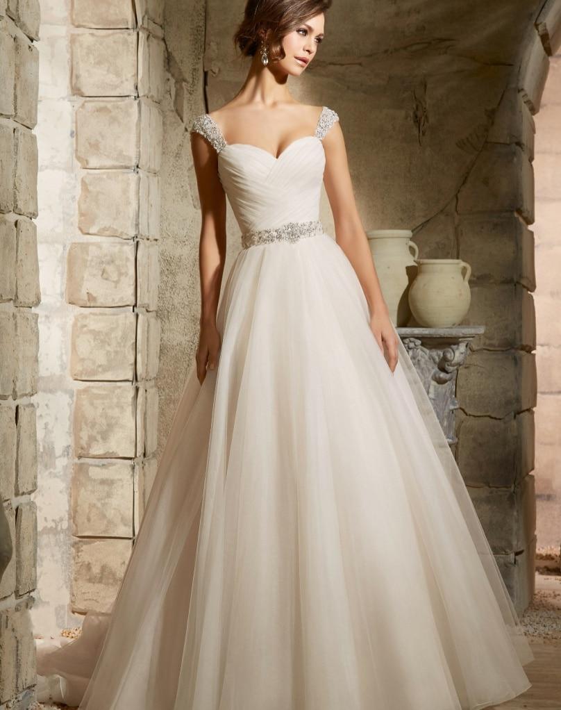 Vestido de noiva vintage wedding dress 2017 hot sale for Vintage wedding dresses sale